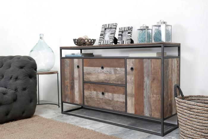 achat buffet 150 cm marque dbodhi gamme tuareg une tr s belle ligne pour cette enfilade en bois. Black Bedroom Furniture Sets. Home Design Ideas