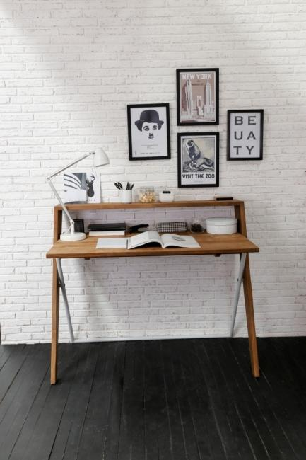 Bureau 120 cm collection Contour