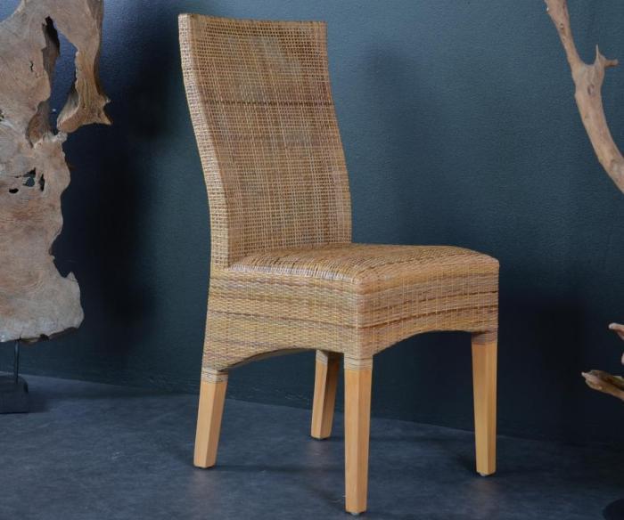 Acheter chaise en clisse de rotin en solde chaise for Chaise de salon en rotin