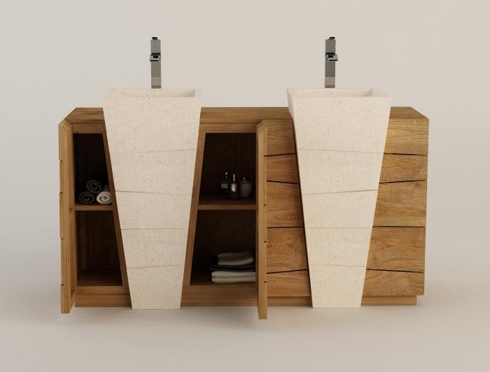 Achat vente meuble de salle de bain rhodes walk meuble - Meuble de chambre de bain ...