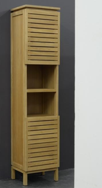 achat vente colonne de salle de bain en teck diva colonne. Black Bedroom Furniture Sets. Home Design Ideas