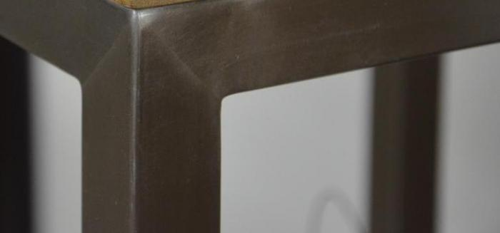 achat vente colonne de salle de bain teck et inox loft colonne de salle de bain contemporaine. Black Bedroom Furniture Sets. Home Design Ideas