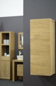 Colonne en teck meuble de rangement pour la salle d 39 eau - Colonne salle de bain teck ...