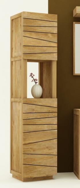 achat colonne de salle de bain teck colonne de rangement. Black Bedroom Furniture Sets. Home Design Ideas