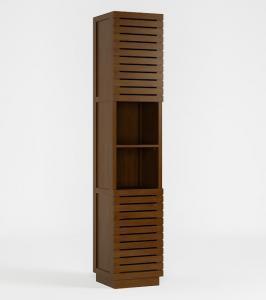 Colonne en teck meuble de rangement pour la salle d 39 eau - Etagere salle de bain teck ...