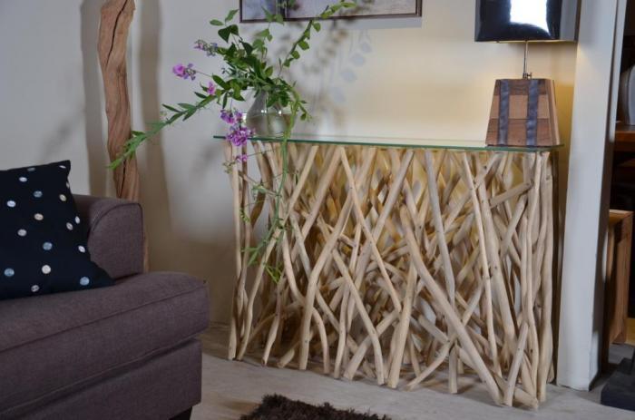 vente console branches en teck walk. Black Bedroom Furniture Sets. Home Design Ideas