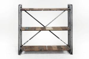 etag re en teck rangements et biblioth ques en bois exotique. Black Bedroom Furniture Sets. Home Design Ideas