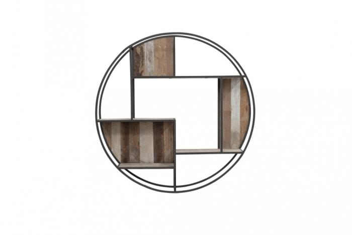 Achat étagère murale diamètre 80 cm gamme Tuareg. Livraison offerte.