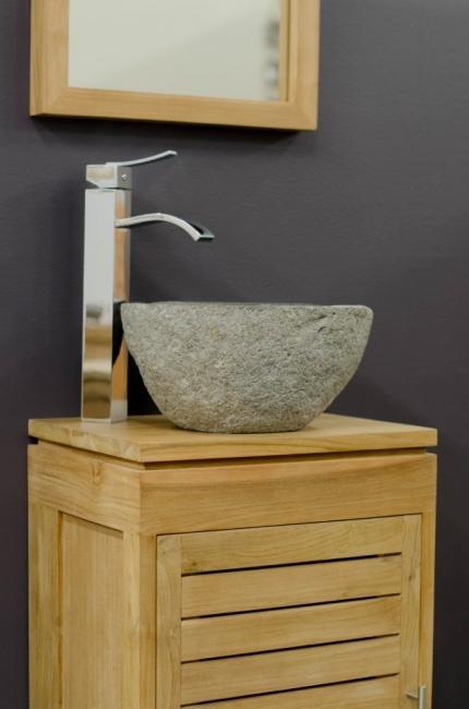 achat petit lave main en teck oasis choisissez la qualit du teck pour votre salle de bain. Black Bedroom Furniture Sets. Home Design Ideas