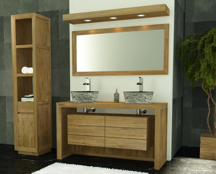 Achat meuble de salle de bain groix walk meuble en teck salle de bain - Le bon coin meuble de salle de bain ...