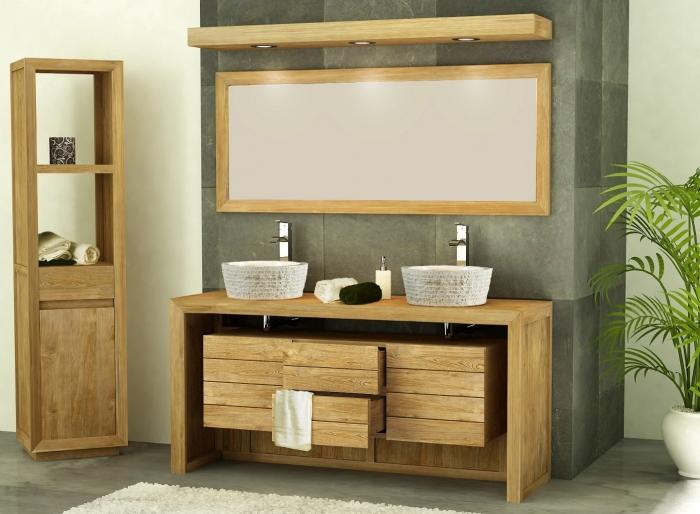 achat meuble de salle de bain groix 160 2 tiroirs walk. Black Bedroom Furniture Sets. Home Design Ideas