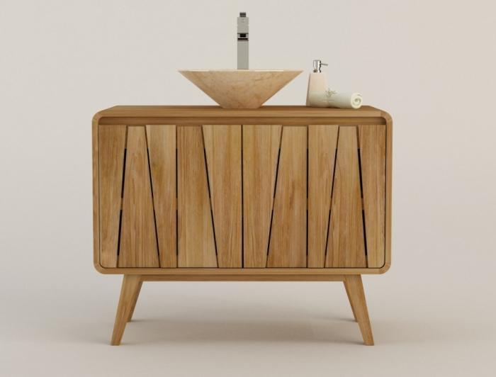 meuble de salle de bain en teck groovy tr s design et tendance le meilleur pour votre salle de bain. Black Bedroom Furniture Sets. Home Design Ideas
