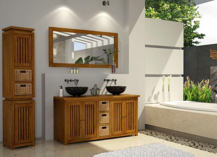 meuble salle de bain java