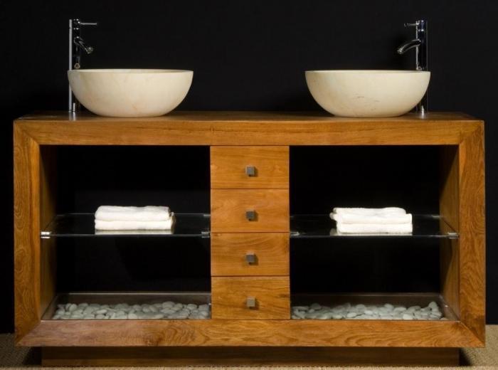 achat vente meuble de salle de bain pacifique 140 walk. Black Bedroom Furniture Sets. Home Design Ideas