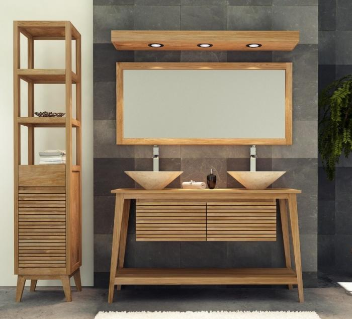 achat meuble de salle de bain taneti walk meuble en teck. Black Bedroom Furniture Sets. Home Design Ideas