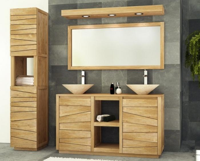 affordable vente meuble de salle de bains teck walk meuble. Black Bedroom Furniture Sets. Home Design Ideas