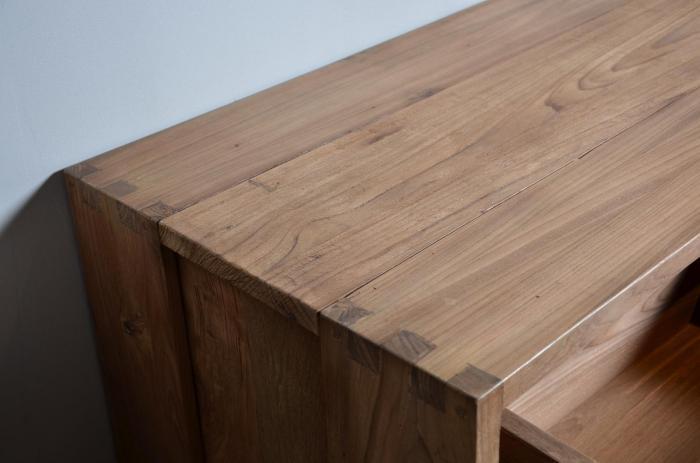 vente meuble tv en teck dbodhi gamme fissure table salon salle manger. Black Bedroom Furniture Sets. Home Design Ideas