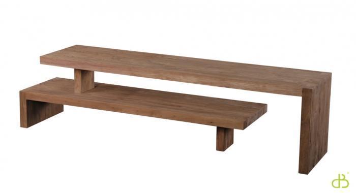 vente meuble tv en teck dbodhi gamme lekk table salon. Black Bedroom Furniture Sets. Home Design Ideas