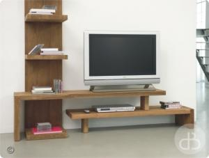 Vente meuble tv en teck dbodhi gamme lekk table salon salle manger - Meuble tv extensible ...