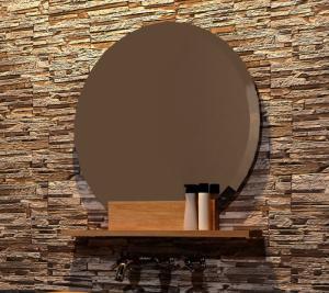 Acheter miroir en teck rectangulaire walk l130 miroir for Acheter miroir rond
