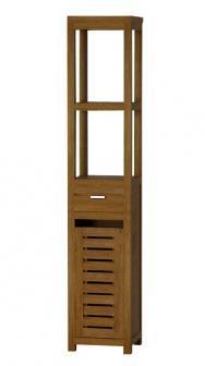 achat vente meuble salle de bain claouey 110 teck. Black Bedroom Furniture Sets. Home Design Ideas