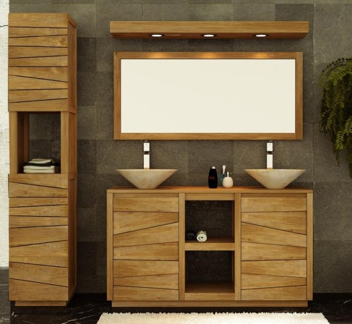 achat vente meuble salle de bain en teck belair. Black Bedroom Furniture Sets. Home Design Ideas