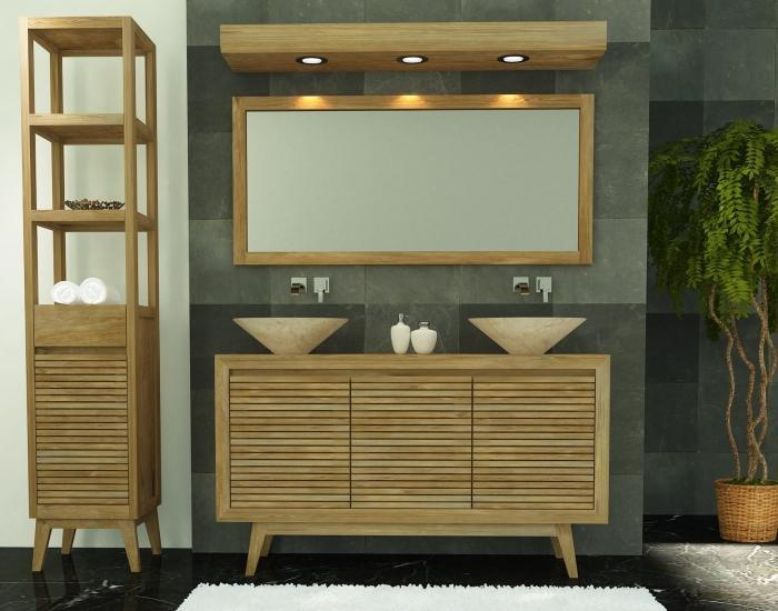 achat vente meuble salle de bain sikka. Black Bedroom Furniture Sets. Home Design Ideas
