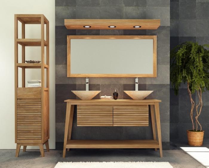 achat vente meuble salle de bain sikka. Black Bedroom Furniture Sets. Home Design Ideas