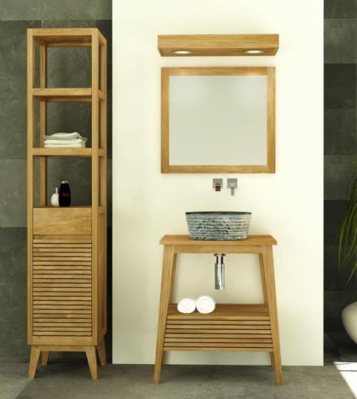 achat vente meuble salle de bain tidore. Black Bedroom Furniture Sets. Home Design Ideas