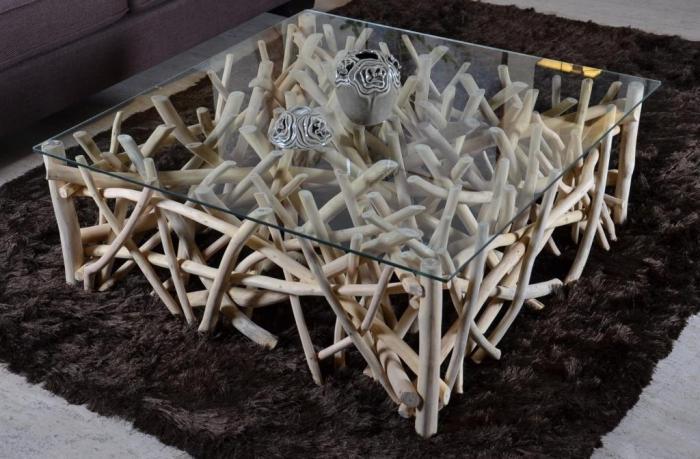 Pour En Salon Walk Branches Table Avec Carrée Basse Teck 8nOkX0wP