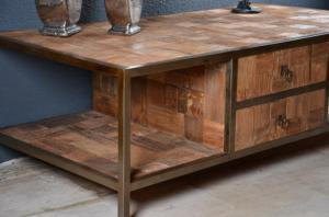 Table basse MECA teck ancien WALK