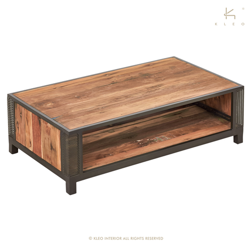 Table basse rectangulaire CHIC style industriel et design