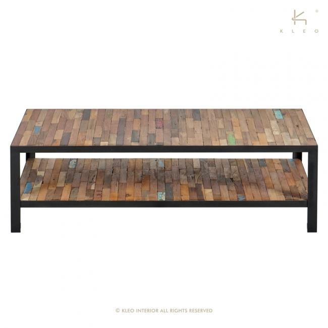 Table basse rectangulaire FACTORY 120cmx70cm