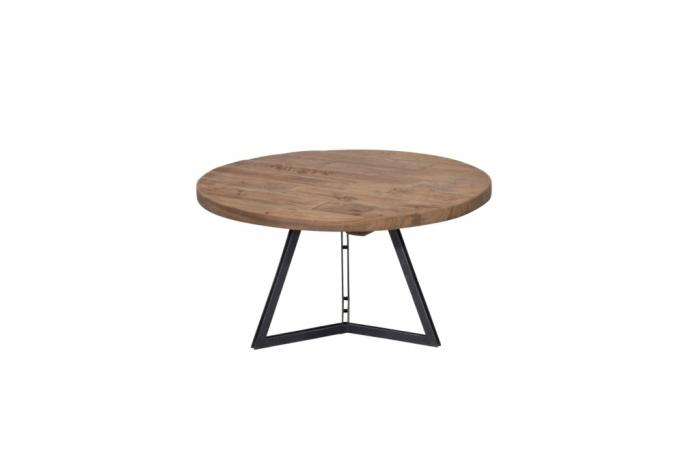 Table basse ronde collection Home Solutions diamètre 75 cm