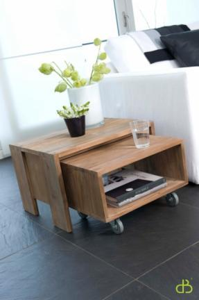 Table basse teck Dbodhi 1 case