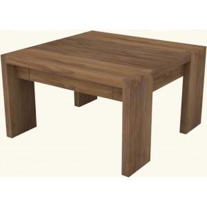 Vente table en teck dbodhi rectangulaire gamme fissure for Table a manger salon