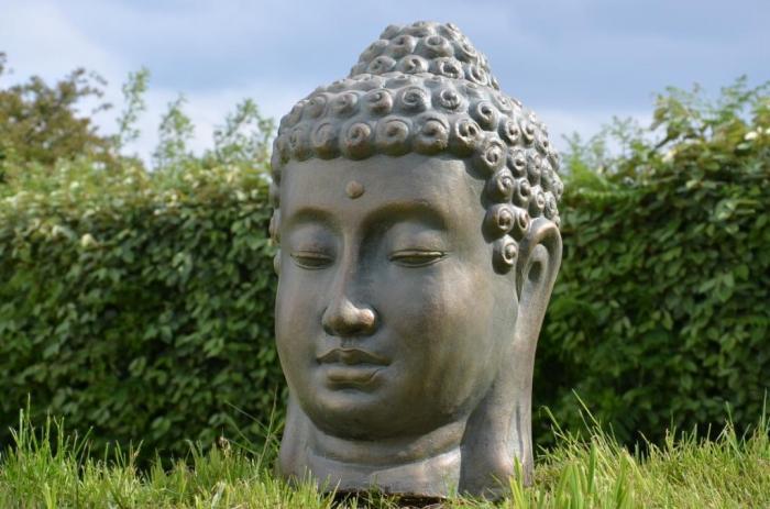 Tete de bouddha pas cher for Statue jardin pas cher