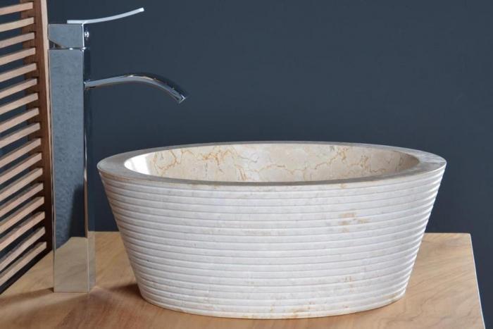 vente vasque en marbre audierne walk vasque de salle de bain en marbre ou pierre salle de. Black Bedroom Furniture Sets. Home Design Ideas