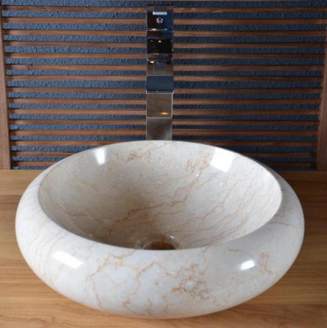 Acheter vasque salle de bain en marbre fouesnant walk vasque de salle de - Vasque marbre salle de bain ...