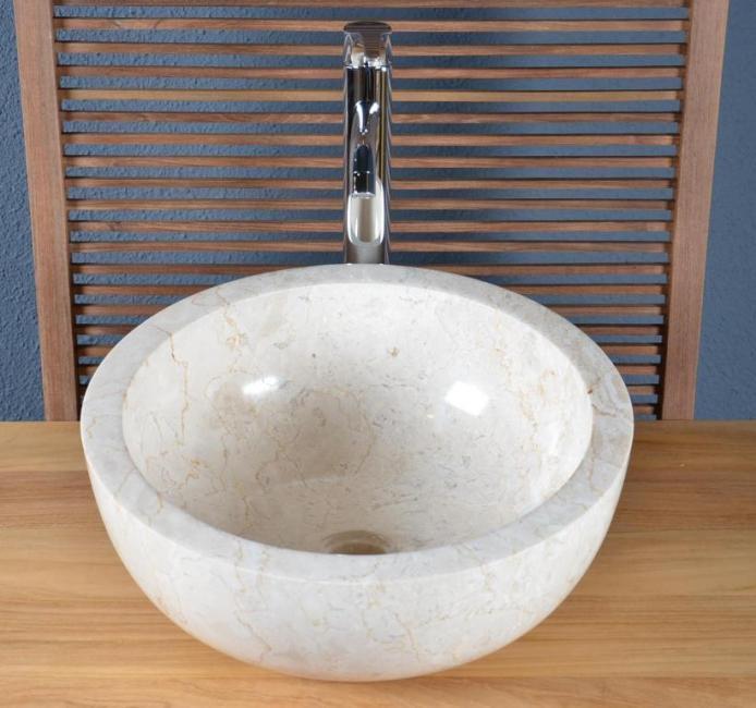 Vente Vasque salle de bain en marbre Groix - WALK - Vasque de salle ...