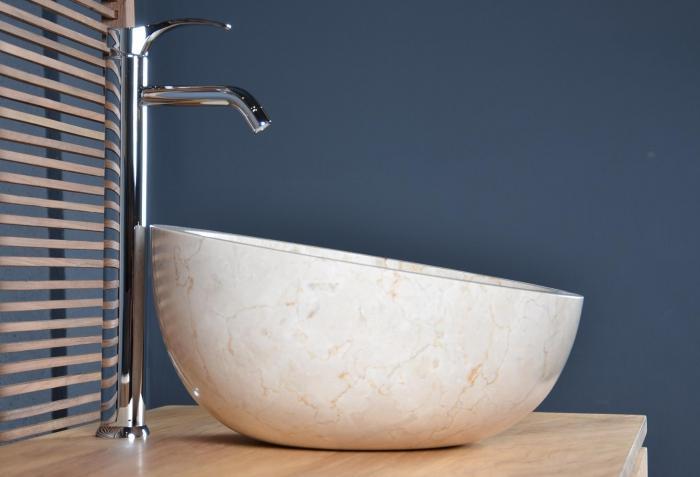vente vasque salle de bain en marbre groix - walk - vasque de ... - Photos Vasque Salle De Bain